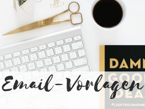 Email-Vorlagen für Hochzeitsplaner